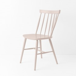 Chaise scandinave rose poudre