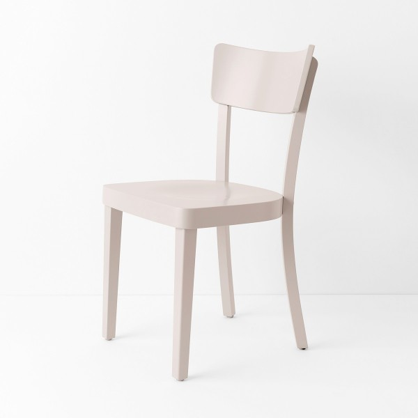Chaise Filby rose poudre