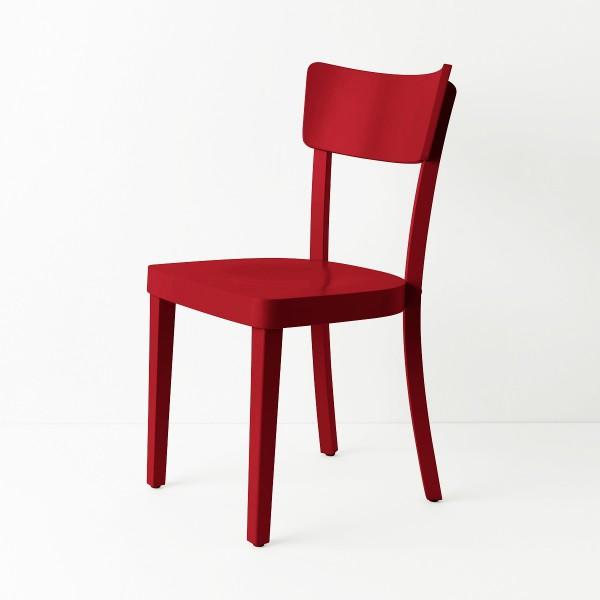 Chaise Filby rouge