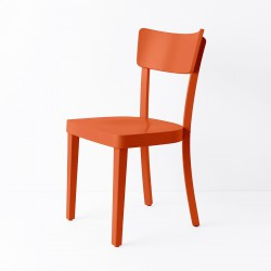 Chaise Filby orange
