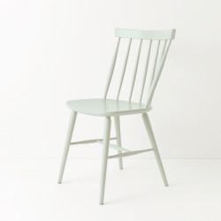 Chaise scandinave bleu vert pastel