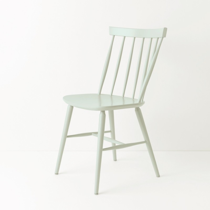 chaise scandinave bleu vert pastel loading zoom - Chaises Scandinaves Bleu