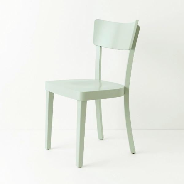 Chaise Filby bleu vert pastel