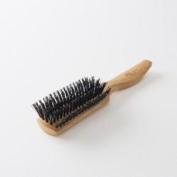 brosse à cheveux lissoir bois sanglier