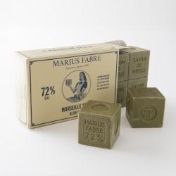 boite 6x400g savon Marseille olive