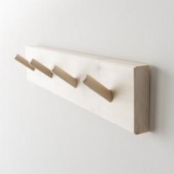 patère en bois 4 crochets de chez Iris Hantverk