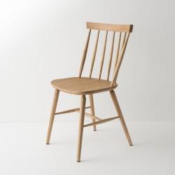Chaise scandinave finition cirée chêne moyen