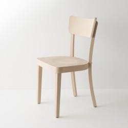 chaise Filby en hêtre courbé style Baumann brute à peindre