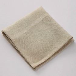 serviette en lin gypse