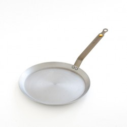 La poêle à crêpes diamètre 24cm en fer ciré est 100% écologique
