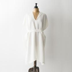 peignoir blouse en lin