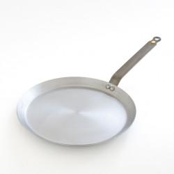 La poêle à crêpes diamètre 30cm en fer ciré est 100% écologique