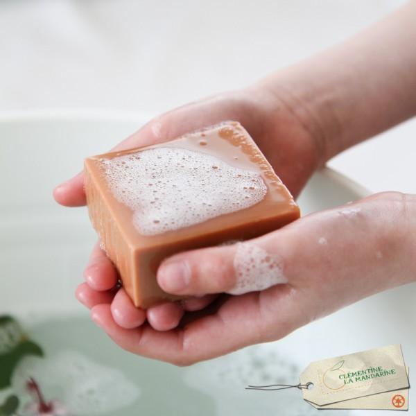 Petit cadeau pour le bain Clémentine La Mandarine