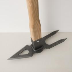 maxi serfouette à fourche en fer forgé Dewit