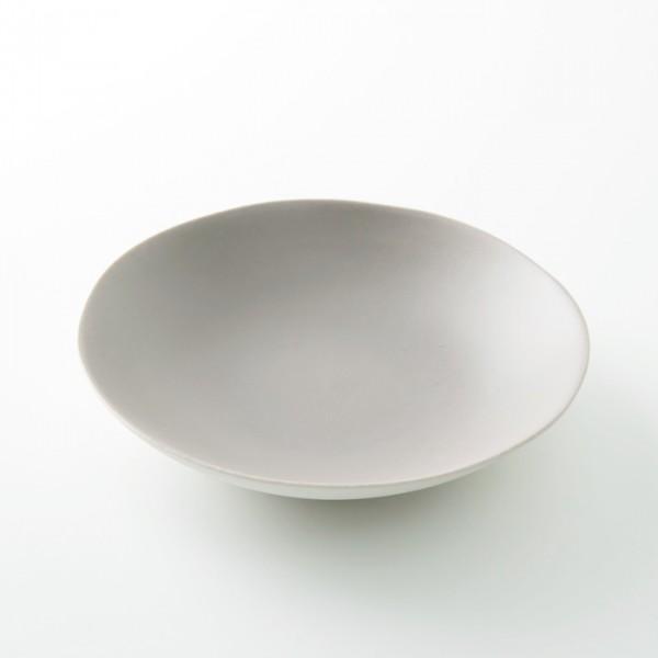 assiette creuse GM grès coloris gingembre de chez Jars Céramistes
