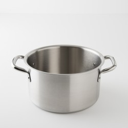 "braisière ""chef"" inox brossé 28 cm"