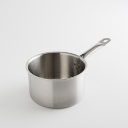 "casserole ""chef"" inox brossé 20 cm"