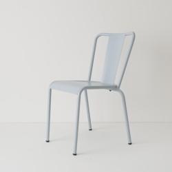 chaise de jardin métal glacier