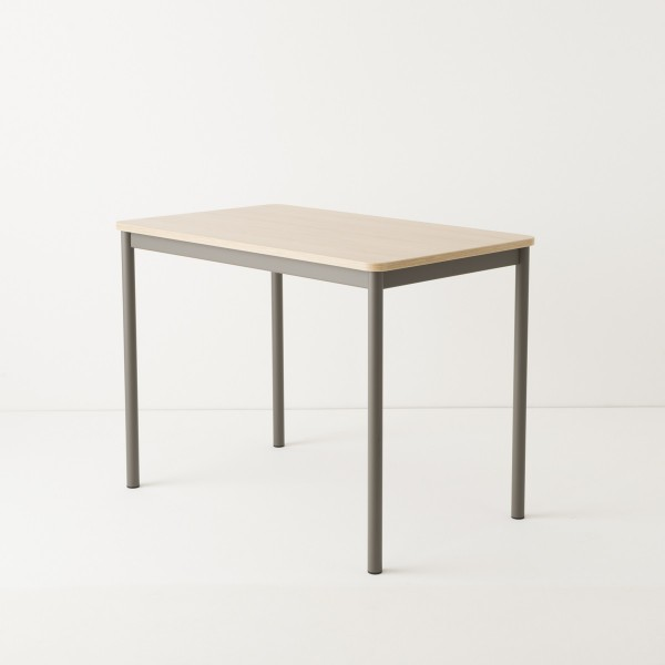 Table 100x60 coloris taupe