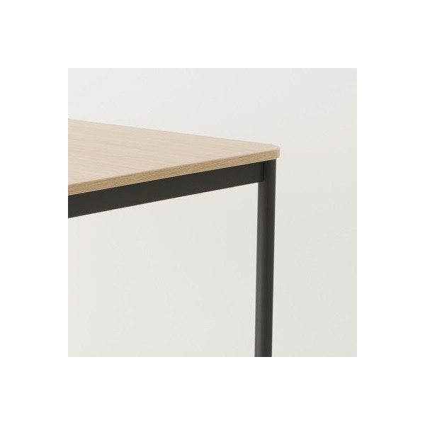 Table 120x80 coloris anthracite