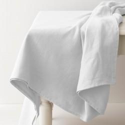 nappe en lin léger blanc