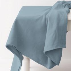nappe en lin léger gris bleu