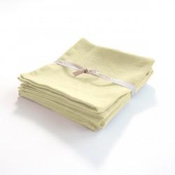 serviette en lin léger vanille