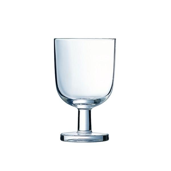 lot 6 verres à pied 20 cl empilables