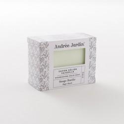 savon dur vaisselle sauge-basilic de chez Andrée Jardin