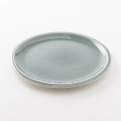 assiette en grès coloris oxyde XL Cantine de chez Jars Céramistes