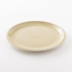 assiette en grès coloris argile XL Cantine de chez Jars Céramistes