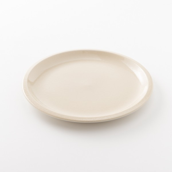 assiette en grès coloris corde L Cantine de chez Jars Céramistes