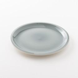 assiette en grès coloris oxyde L Cantine de chez Jars Céramistes