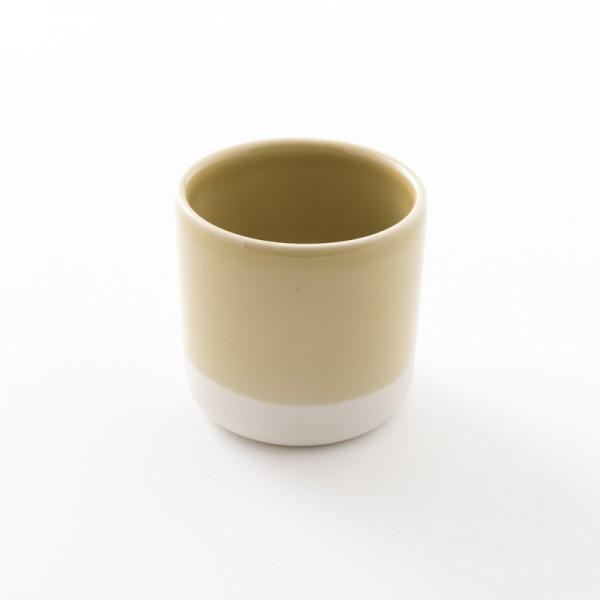 gobelet en grès coloris argile L Cantine de chez Jars Céramistes