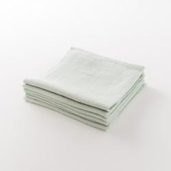 serviette lin épais menthe de chez Lapuan Kankurit