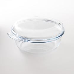 cocotte ronde en verre trempé Pyrex 3.5l