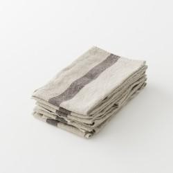 torchon doux lin lavé naturel de chez Charvet Editions
