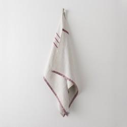 serviette MM/GM lin gris bordeaux de chez Lapuan Kankurit