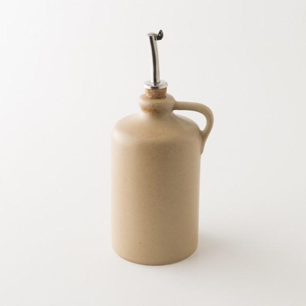 Huilier bec verseur grès sable 0.6l