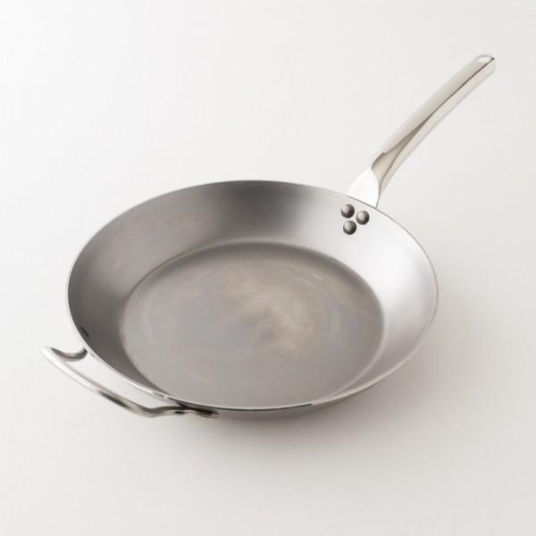 poêle en fer queue froide 32 cm De Buyer
