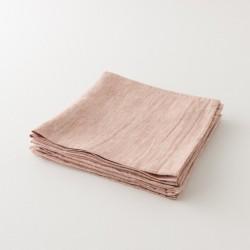 serviette lin primo poterie de chez Charvet Editions