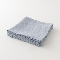 serviette lin primo bleu pastel de chez Charvet Editions