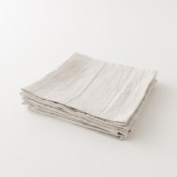 serviette lin primo naturel de chez Charvet Editions