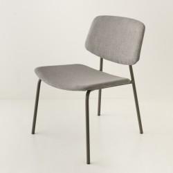 fauteuil Easy ton/ton zinc