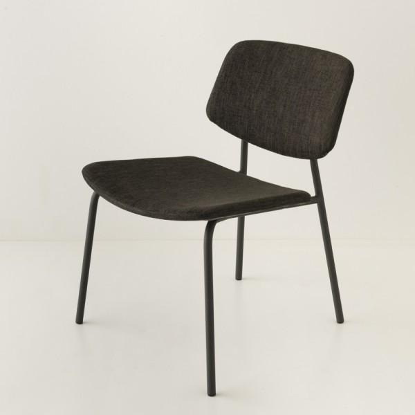 fauteuil Easy ton/ton noir