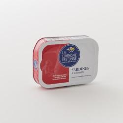 sardines à la tomate de la Compagnie Bretonne