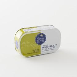 Filet de maquereau à l'huile d'olive bio par La Compagnie Bretonne