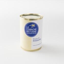 Soupe de poisson traditionnelle de la compagnie bretonne boite de 404 g