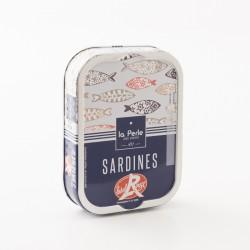 sardines Label Rouge à l'huile d'olive bio label par La Perle Des Dieux