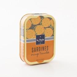 filets de sardines à l'huile de colza et à l'orange tranchée par La Perle Des Dieux